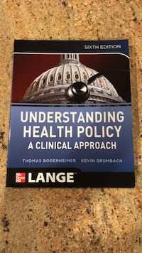 Understanding health policy a clinical approach Medina, 55340