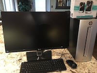 "HP PC Desktop computer set 27"" Monitor  Oakville, L6J"