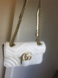 Gucci Marmont Bag  Silver Spring