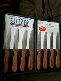 Slitzer German steak knife 8pc set Lorton, 22079