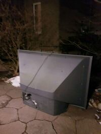 black flat screen TV with remote Whitby, L1R 3G4