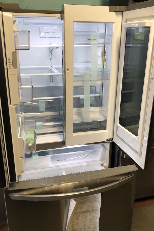 New LG stainless steel French door freezer fridge 10% off  4466839a-c356-4341-bf60-c29851a5931c