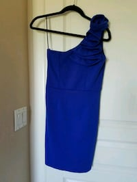 women's blue spaghetti strap dress Calgary, T3M 1H9