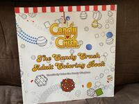 Candy crush coloring book