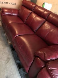 (2) electric reclining leather couches sofas Inglewood, 90303