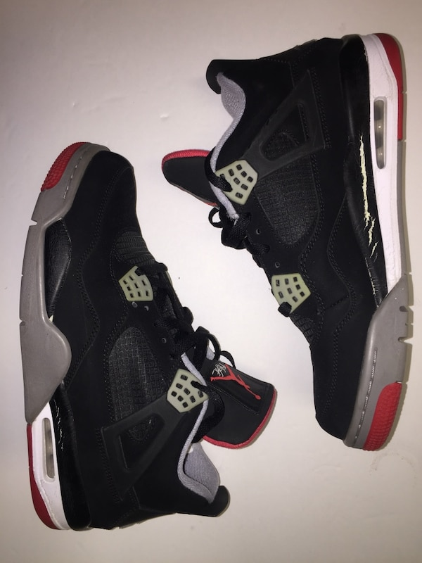 ea6133d4ad3 Used Air Jordan 4 Bred 11 for sale in New York - letgo