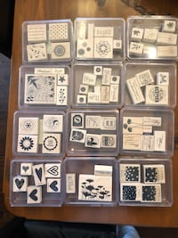 Scrapbooking rubber stamps Barrie, L4N 9R5