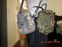 Xmas gift or stuffer. Waist, belt or shoulder bag. Water resistant. For outdoor, gift or stocking stuffer. Water resistant. 3689 km