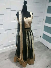 black and gold lengah size 38 Surrey, V3S 8M9
