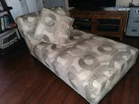 Chaise Lounge Couch and comes with 2 long pillows that match Glenwood, 51534