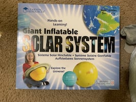 Inflatable solar system-kids