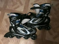 pair of black-and-gray inline skates Endicott, 13760