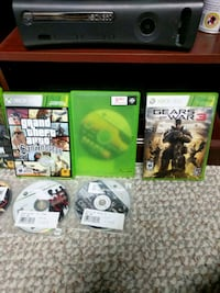 Xbox 360 with games Gatineau, J8R 1T7