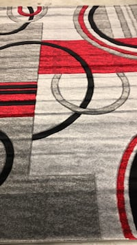 Red, black, and gray area rug Allentown, 18104