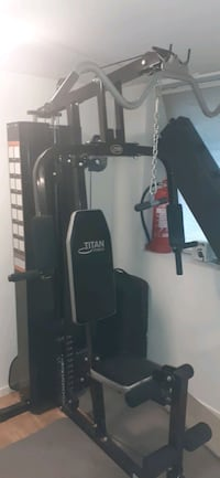 TITAN FITNESS ATLAS TRAINING  Bergenhus, 5039
