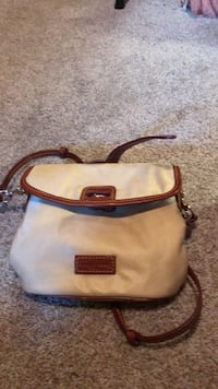 white and brown leather crossbody bag Lafayette, 94549