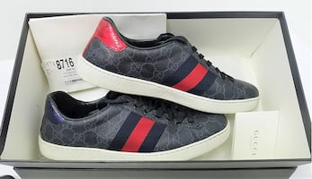 Gucci low top men's sneakers size 11