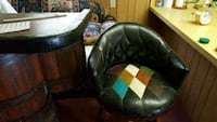black and green leather armchair Bishopville, 29010