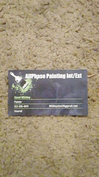 Interior/exterior Painting and more!!