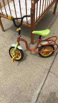 toddler's yellow and red trike Pittsburg, 94565