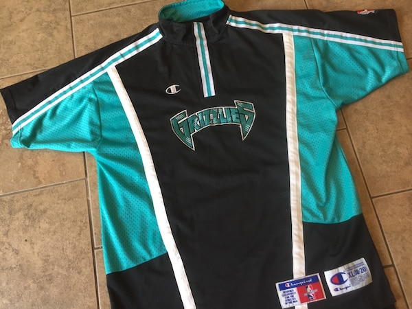 Vancouver Grizzlies shooting jersey