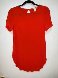 H&M Red Blouse Vancouver, V5N 5B2