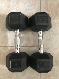 2x 25LB Dumbell Cliffside Park, 07010