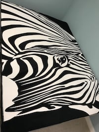 Brand new Zebra area rug on sale Toronto, M1S