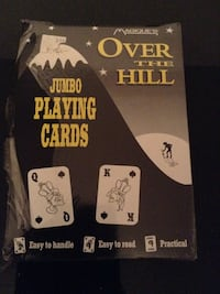 Jumbo Senior playing cards