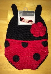 Hand Crocheted Hat & Diaper Cover Set 2 pc Pack Vancouver, 98660