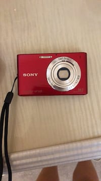 Red nikon coolpix point-and-shoot camera New York, 10312