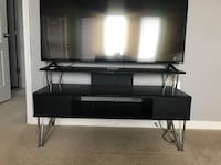 Black entertainment center Centreville