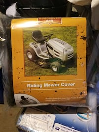 Cover to ride on mover