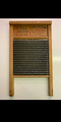 Vtg National 824 Washboard The Silver King Top Not