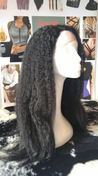 Water Wave High Quality Lace Front Wig Winnipeg