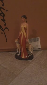 home interiors Figurine leopard and woman Erie, 16506