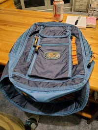 Hiking or trekking backpack.