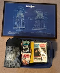 Huge Doctor Who collection - mostly late 1980s Simpsonville, 29681