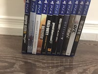 Assorted sony ps4 games Ajax, L1S 5K4
