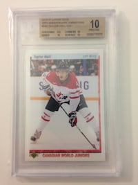 2010-11 Upper Deck Taylor Hall #550 CWJ Variations ROOKIE BGS 10 TRIPLE 10 SUBS OILERS 3154 km
