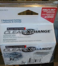 New Remington CLEAN XCHANGE Cartridge