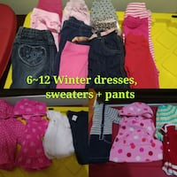 Girls 6-12m Lot (20 pieces) Mississauga