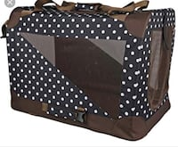 Black and white polka dot travel cot Toronto, M3M