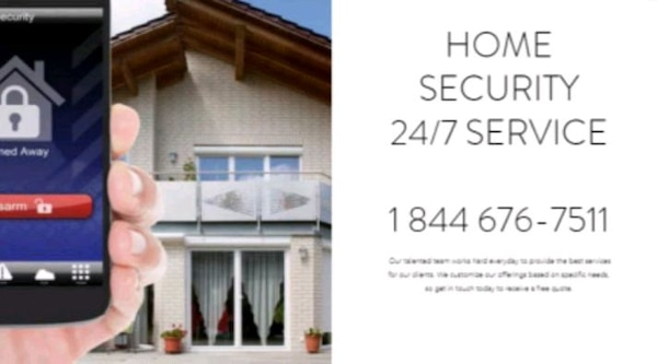 Home security alarm installation