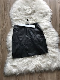 Leather high waisted skirt small