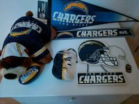 Chargers fan gear Pomona, 91766