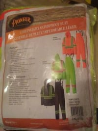 Pioneer Lightweight Waterproof Suit pack Surrey, V4N 0K3