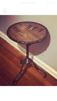 Industrial chic table New York, 10044