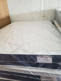 white and black quilted mattress Opa-locka