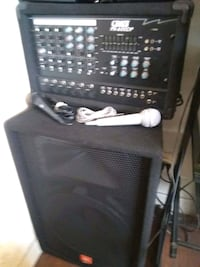 PA system with JBL speaker and one mice $170$ Phoenix, 85021